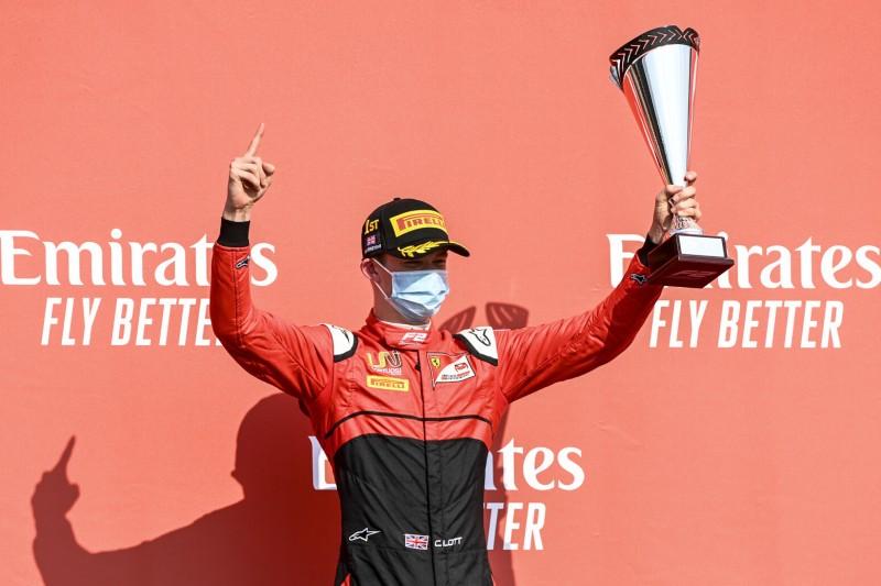 Formel-2-Champion 2020? George Russell setzt auf Ferrari-Junior Callum Ilott