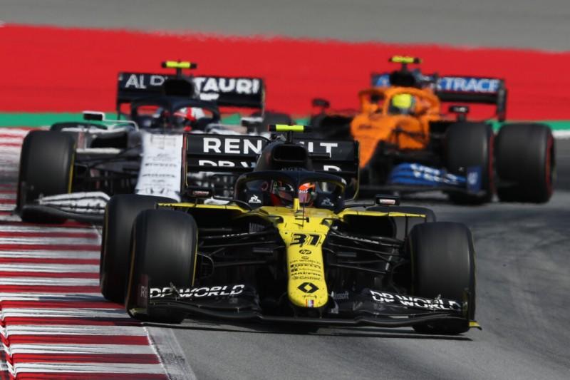 """Esteban Ocon: """"Party-Modus""""-Verbot gut für Renault"""
