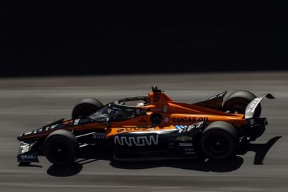 Indy 500: McLaren führt das Abschlusstraining an