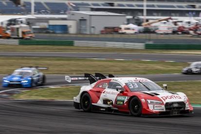 DTM-Rennen Lausitz 1: Rast besiegt Müller trotz Ausritt