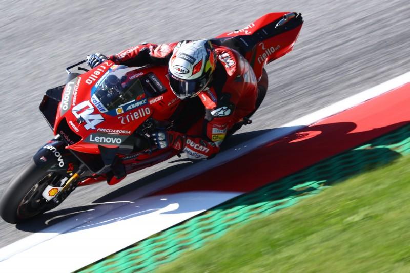 MotoGP Spielberg (2): Dovizioso im Warm-up Schnellster vor Mir