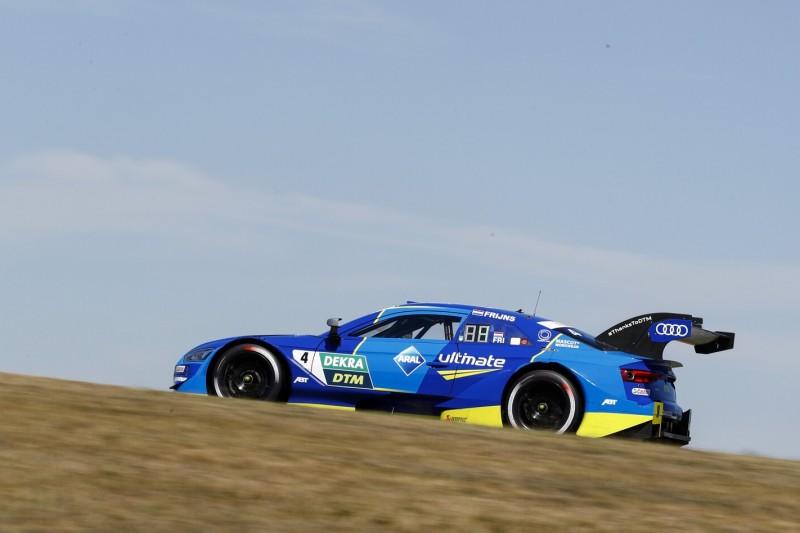 DTM-Qualifying Lausitz 2: Frijns holt Pole vor Audi-Rivalen