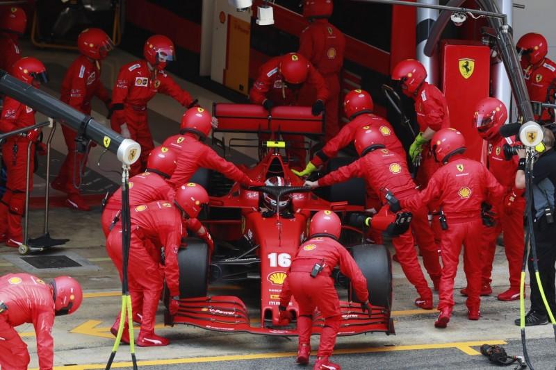 Leclerc-Ausfall in Spanien: Ferrari hat Elektronikdefekt identifiziert