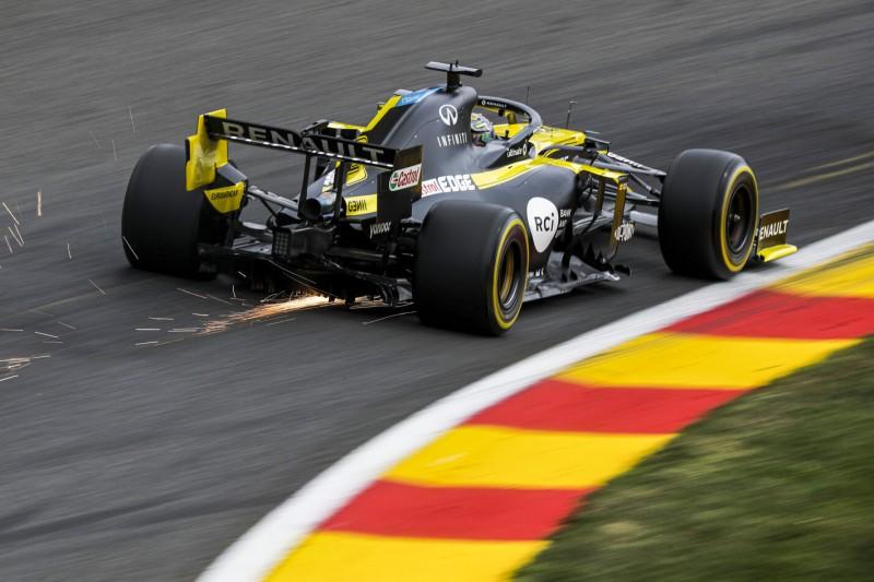 Ricciardo rollt in Spa auf P2 aus: Motor und Getriebe nicht beschädigt