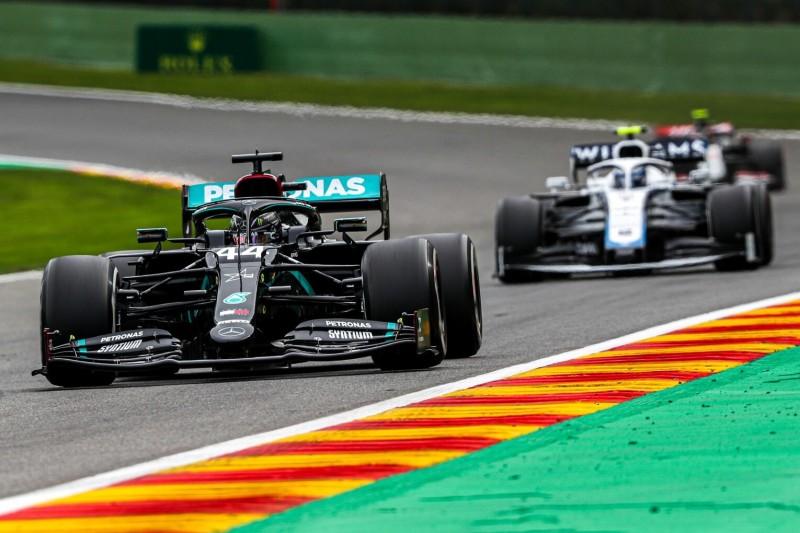 Nach dem Freitagstraining in Spa: Hamilton sieht Red Bull vor Mercedes