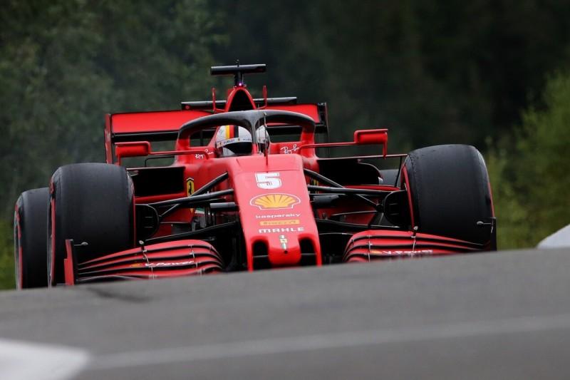 F1 Belgien 2020: Ferrari auf den letzten Platz aller zehn Teams abgerutscht