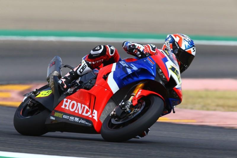 Erstes Honda-Podium seit 2016: Alvaro Bautista mischt in Aragon vorne mit