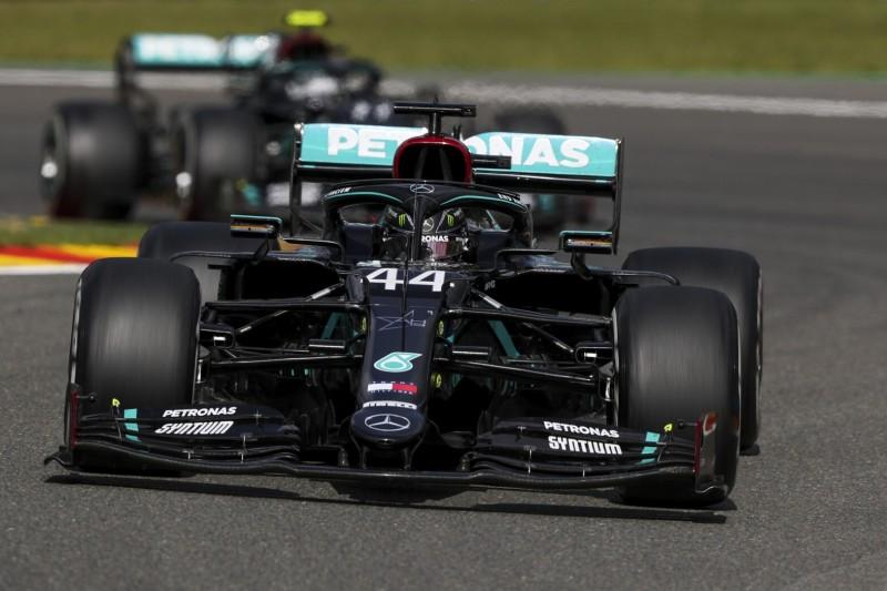 """""""Es war total marginal"""": Mercedes bangte um Doppelsieg in Spa"""