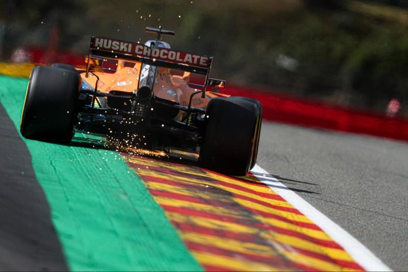 Zu viel Asphalt in Spa: Carlos Sainz wünscht sich Kies und Gras zurück