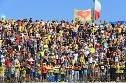 10.000 MotoGP-Fans in Misano: Rossi hofft auf Schritt zurück zur Normalität