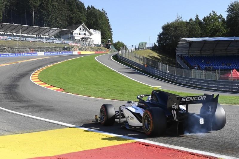 """Correa über den F2-Crash in Spa: """"Das Gruseligste war der Schmerz"""""""