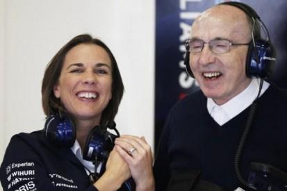 Rücktritt: Claire und Frank Williams steigen aus Formel-1-Team aus