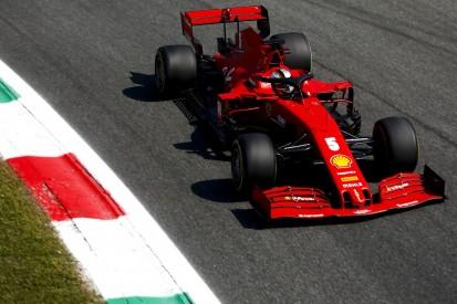 """Ferrari in Monza: """"Auto rutscht über alle vier Reifen"""""""