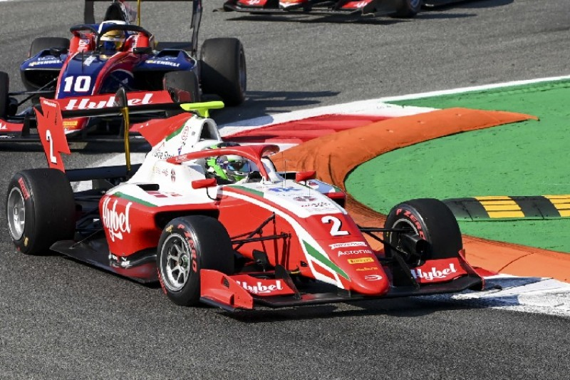 Formel 3 Monza 2020: Vesti siegt im ersten Rennen - David Beckmann Vierter