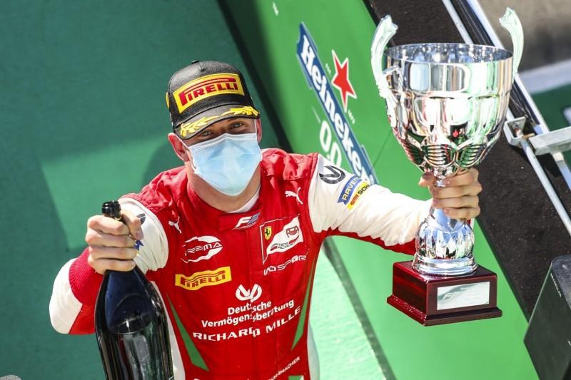 """""""Trend auf unserer Seite"""": Mick Schumacher mitten im Titelrennen"""