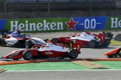 Formel 3 Monza 2020: Hughes siegt - Drama um Meisterschaftsrivalen