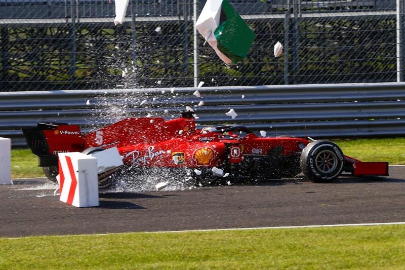"Vettel nach neuem Ferrari-Tiefpunkt in Monza: ""I mog nimma!"""