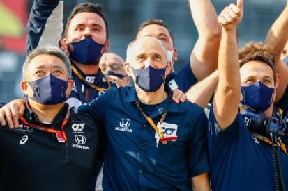 AlphaTauri-Teamchef Tost: Gasly hat das Rennen in Sektor 2 gewonnen