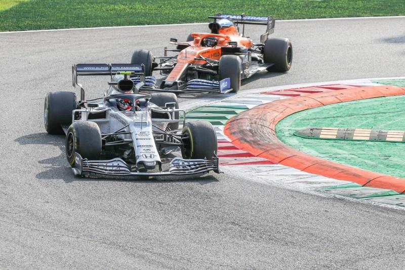Carlos Sainz: In der letzten Runde hat Gasly kleine Fehler gemacht