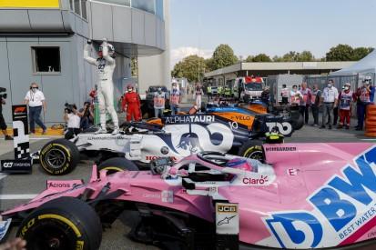 "Nicholas Latifi im Parc ferme: ""Wo ist denn bitte der Mercedes?"""