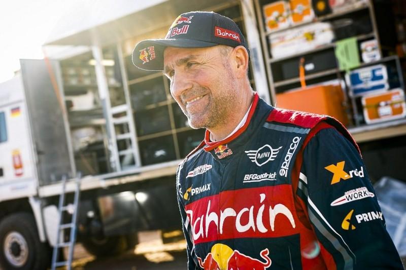 Peterhansel begräbt Traum von Rallye Dakar mit Ehefrau