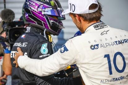 Pierre Gasly: War mir sicher, dass Lewis Hamilton noch gewinnt!