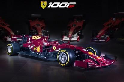 1.000. Grand Prix: So sieht die Ferrari-Speziallackierung aus