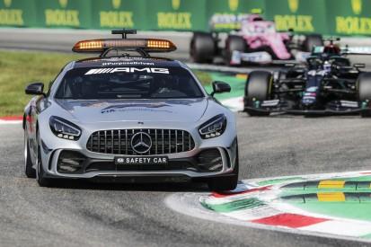 Mugello: Mercedes erweist Ferrari mit rotem Safety-Car die Ehre