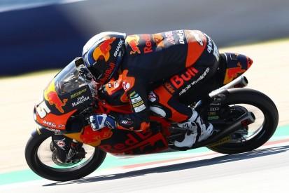 Moto3 FT1 Misano: Raul Fernandez sichert sich erste Bestzeit