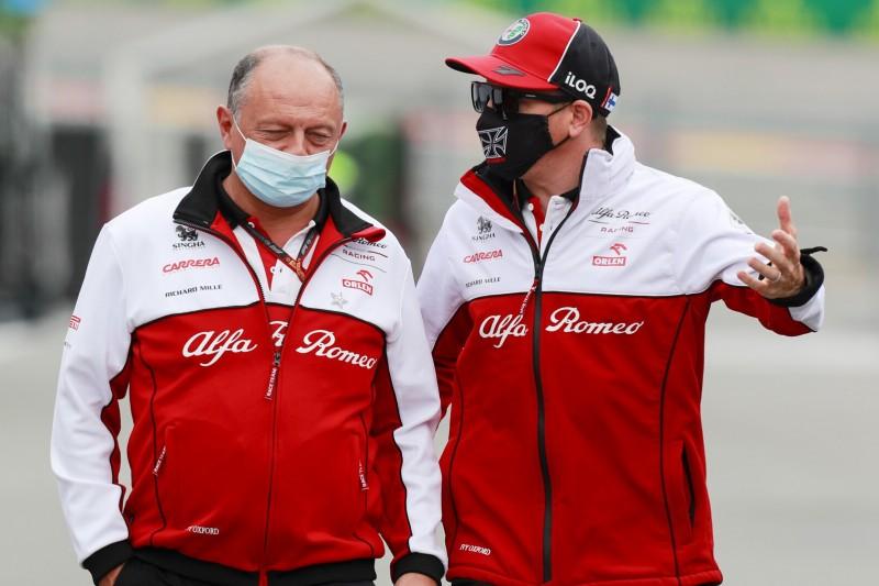 Alfa Romeo: Wenn Kimi Räikkönen bleiben will, kann er bleiben