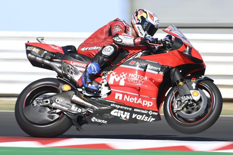 Dovizioso am Freitag verwirrt, Petrucci einziger Ducati-Pilot in den Top 10