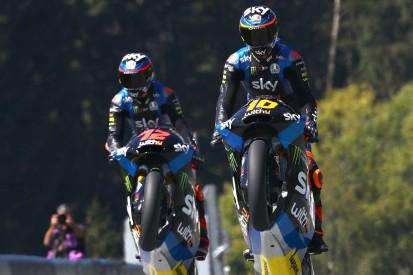 Moto2 in Misano: Luca Marini führt italienischen Dreifachsieg an