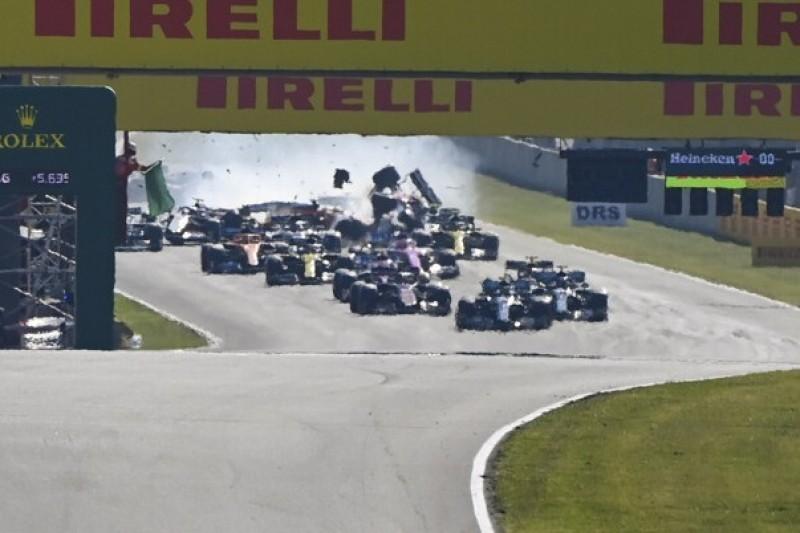 Re-Start-Chaos: Mercedes war das Problem vor dem Rennen bewusst