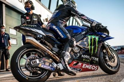 Lang statt kurz: Yamaha testet in Misano neuen Auspuff