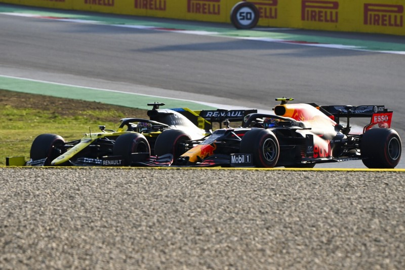 """Frustrierend"": Ricciardo rätselt über Albons Pace am Rennende"