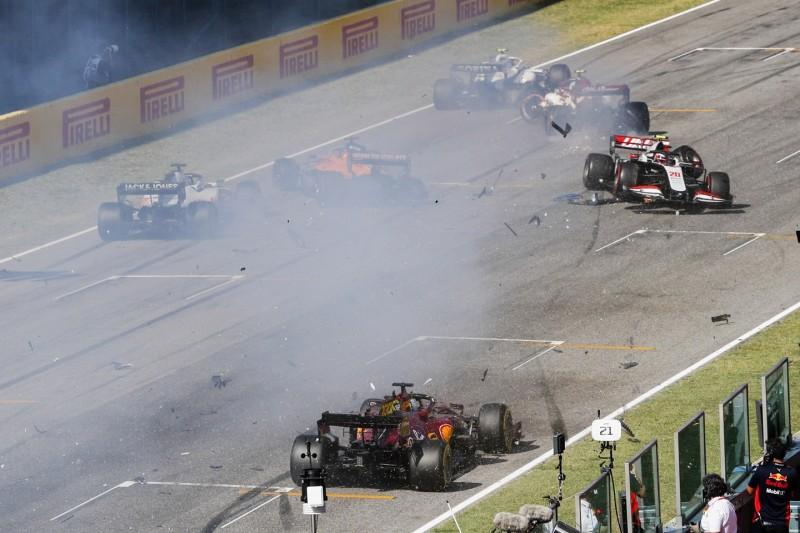 Mercedes erklärt: So kam es zum Crash beim Re-Start in Mugello