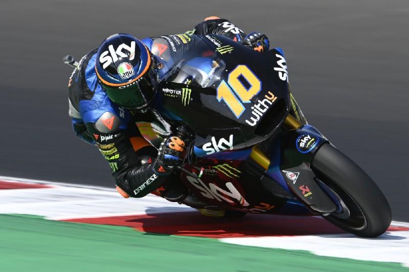 Moto2-Qualifying: Marini und Bezzecchi auch in Misano 2 vorne
