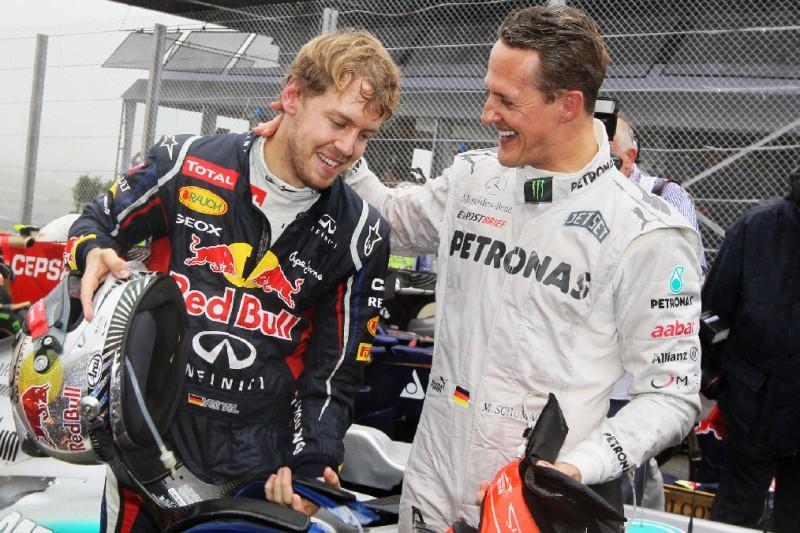 Hamilton vor Schumacher-Rekord: Vettel gibt 'gemischte Gefühle' zu