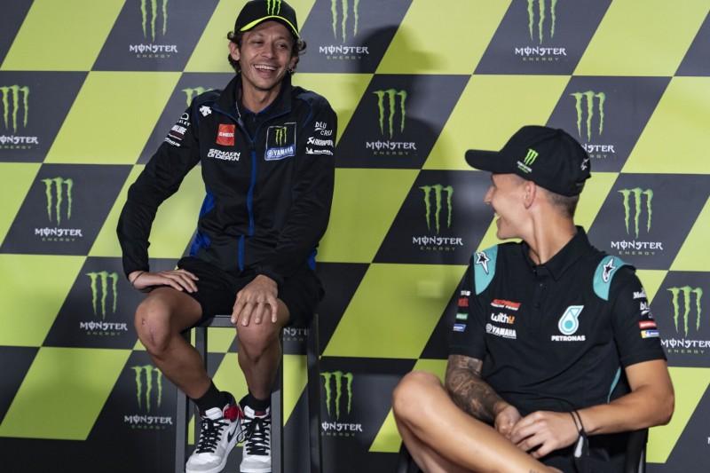 """Fabio Quartararo betont: """"Ich kann Valentino nicht ersetzen"""""""