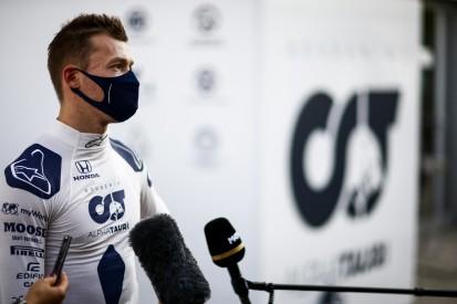 Daniil Kwjat: Lasse mich von Tsunoda-Gerüchten nicht ablenken