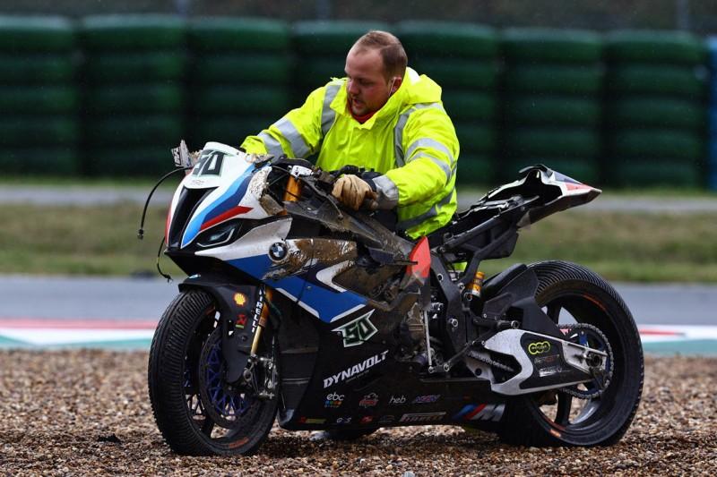 BMW in Magny-Cours: Großer Frust wegen Yamaha-Pilot Garrett Gerloff