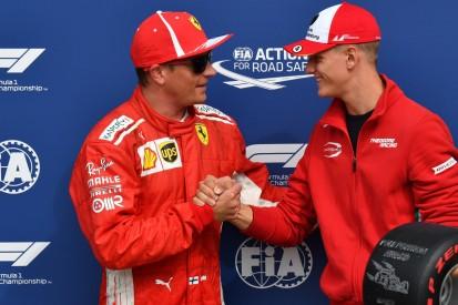 """Kimi Räikkönen: Mick Schumacher ist """"eine Kopie seines Vaters"""""""