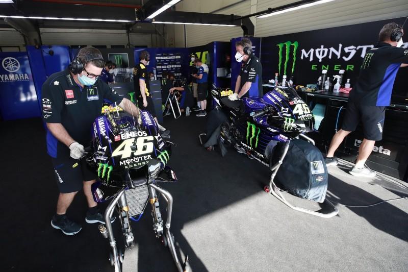 COVID-19-Fall beim MotoGP-Team von Yamaha: Sechs Personen in Quarantäne