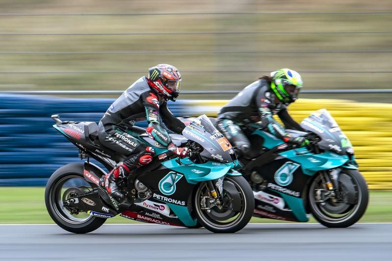 Yamaha: Zuversicht bei Quartararo und Rossi, aber nicht bei Morbidelli