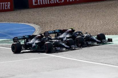 """""""Wie ein Rallyefahrer"""": Bottas lässt gegen Hamilton die Muskeln spielen"""