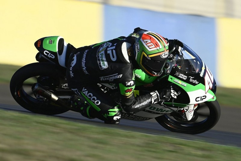 Moto3 Aragon FT1: Darryn Binder mit klarer Bestzeit am Morgen