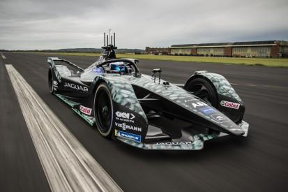 Formel-E-Test: Sam Bird fuhr erstmals den neuen Jaguar-Boliden