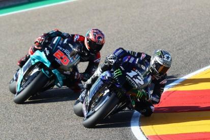 MotoGP Aragon FT2: Yamaha bleibt auch am Nachmittag ungeschlagen