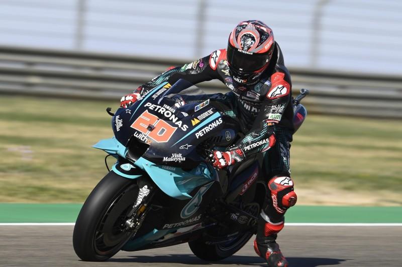 MotoGP Aragon FT3: Quartararo stürzt schwer, keine Ducati direkt in Q2