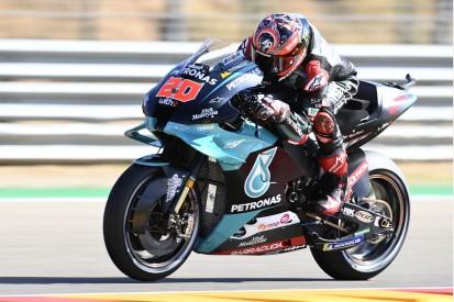 MotoGP Aragon: Quartararo trotz Schmerzen auf Pole - Dovizioso wütet